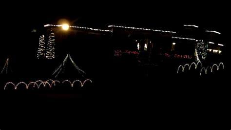 ac dc christmas lights ac dc thunderstruck christmas light show brentwood