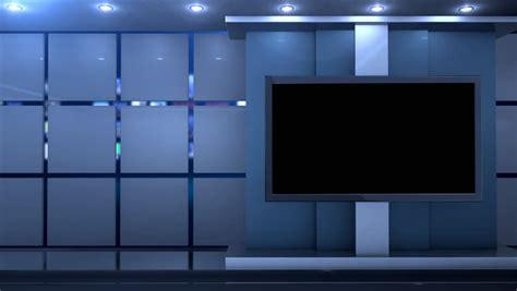 clean studio virtual background stock footage video