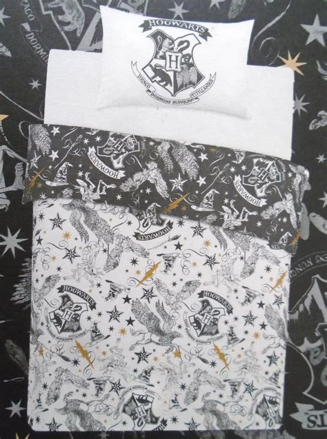 Primark Duvet Cover Set Harry Potter Hogwarts Reversible Single Duvet Cover Set