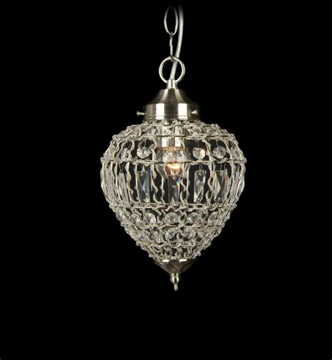 Crystals For Light Fixtures Bethel International Ks10 1 Light Ceiling Fixture With Clear Crystals Districtdecor