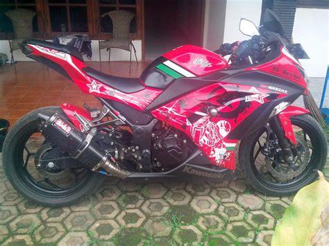 modifikasi motor kawasaki modif japstyle 250 modifikasi motor japstyle terbaru
