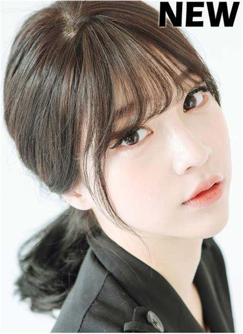 thin bangs hairpieces korean bangs thin version non shiny girlhairdo com