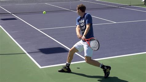golf swing like tennis backhand andy murray ultimate slow motion compilation forehand