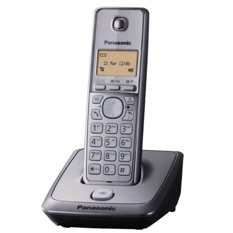 Panasonic Cordless Phone Kx Tge274 Silver new panasonic kx tg2711em single dect cordless house telephone silver tg2711 44453277763 ebay