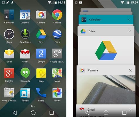 android screen android 5 0 lollipop screenshots android l screenshots pc advisor