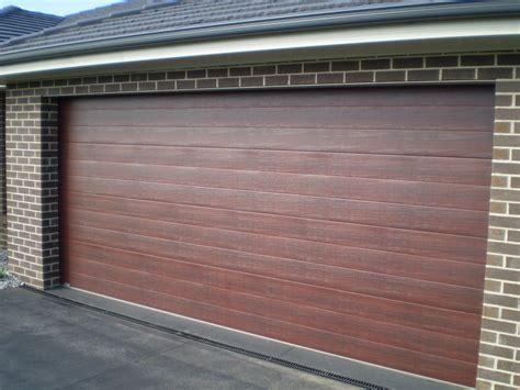 Caoba Doors by Gliderol Western Garage Doors