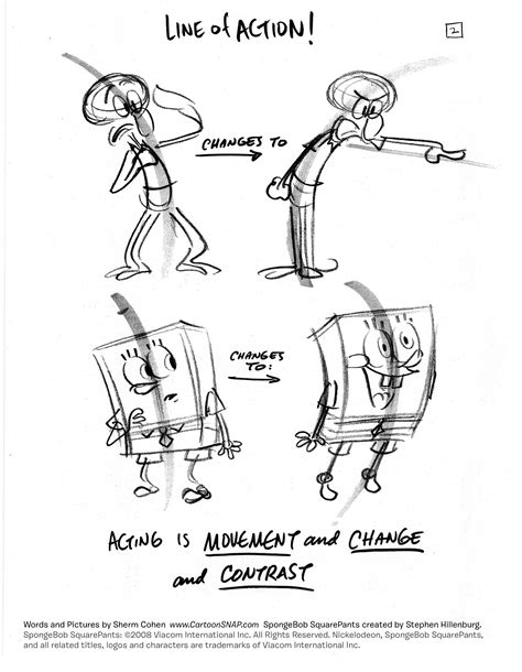 Drawing Tips by Georgiainfonews How To Draw Lively Poses Spongebob Tip