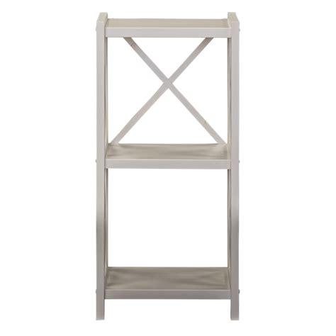 dakota slim bookcase 2 tier target furniture