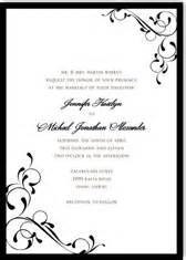 free black and white wedding invitation templates wedding invitation kits printable diy templates