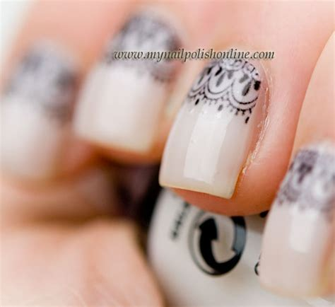 Nail Transfers by Nail With Water Transfers My Nail