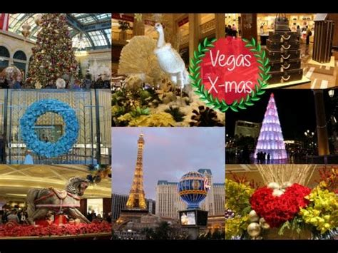 vegas attractions over christmas las vegas 2014 the venetian palazzo bellagio caesars