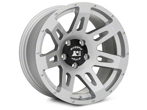 rugged ridge jk wheels rugged ridge wrangler xhd wheel silver 18x9 15305 40 07 17 wrangler jk free shipping
