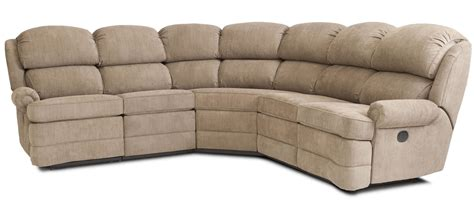 Reclinable Sectional Sofas Transitional 5 Reclining Sectional Sofa With Small Rolled Arms