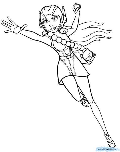 Big Hero Six Coloring Pages Coloring Pages Big Coloring Pages