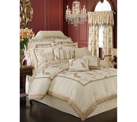 croscill rose garden croscill garden king comforter set qvc