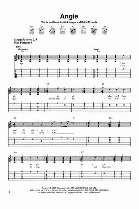 Beautiful Guitar Chords Of The Climb Illustration - Beginner Guitar ...