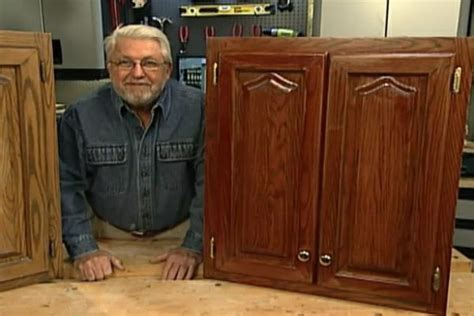 how to refinish kitchen cabinets without stripping watch ron s easy to follow instructions on how to refinish