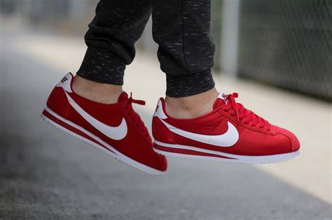 classic red nike classic cortez nylon quot red quot wave 174