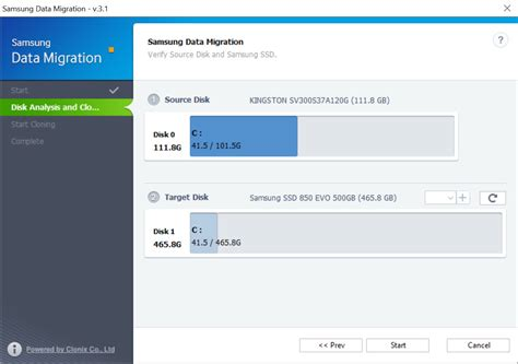 Samsung Data Migration How To Migrate To An Ssd Using Samsung Data Migration Software Custom Pc Review