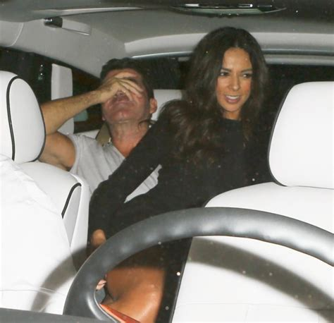 Exes Expecting by Simon Cowell S Ex Sits On His After