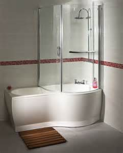Shower And Bath Aqualux P Acrylic Shower Bath And Bath Screen