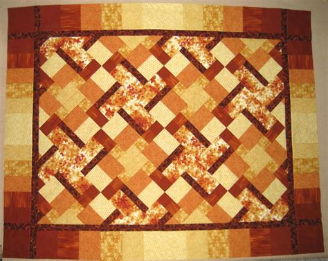 Patchwork Designs For Beginners - rectangles and squares a beginner patchwork quilt