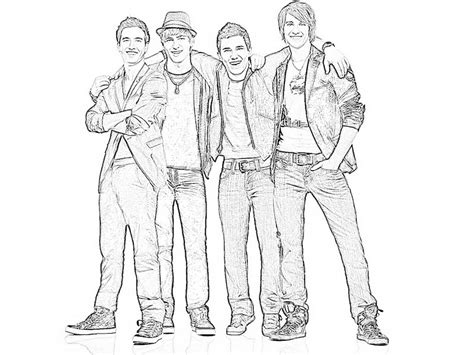 Big Time Coloring Pages logan big time coloring pages coloring pages