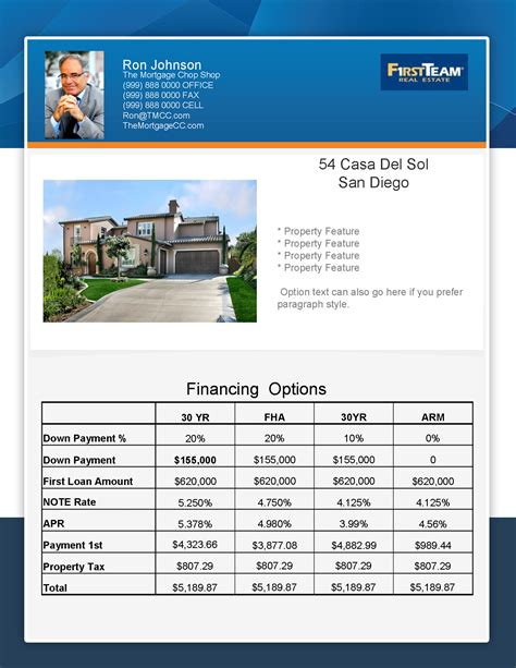 New Flyer Concept Mortgage Real Estate Flyer Turnkey Flyers Mortgage Broker Flyer Template