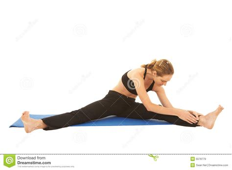 Pilates Mat Series by Pilates Exercise Series Royalty Free Stock Images Image