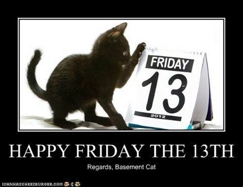 Friday Animal Attraction by Happy Friday The 13th Lolcats Pictures Of Cats
