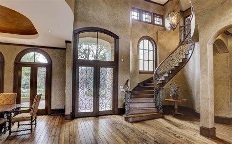 stucco limestone home  houston texas homes   rich