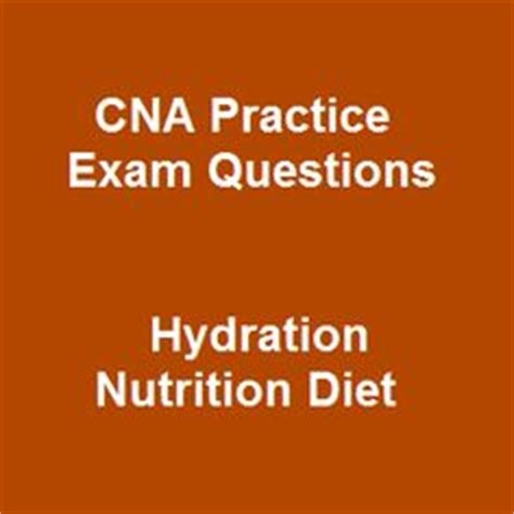 hydration questions and answers with updated free cna test questions 2015 and instant