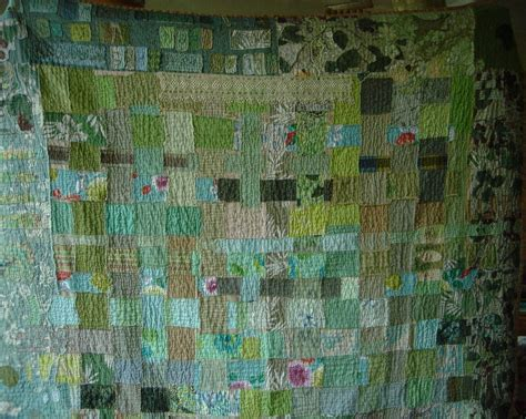 How To Make A Sewn Patchwork Quilt - file green patchwork quilt sewn by jpg wikimedia