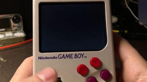 gameboy sd card mod game boy zero with custom sd card reader game cartridge