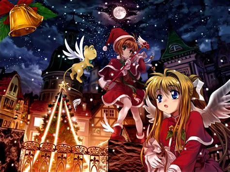 imagenes navidad anime descargar la imagen en tel 233 fono vacaciones anime chicas
