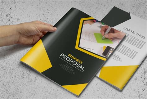 multi page brochure template 70 modern corporate brochure templates design shack