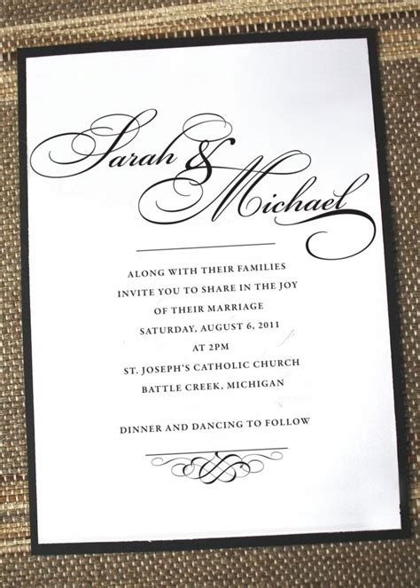 Wedding Invitations Formal by Formal Invitation 7 Responding To Formal Invitations