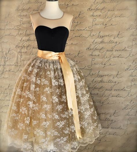 Tutu Bed Skirt Tulle Gold by Lace And Gold Tulle Skirt For Weddings