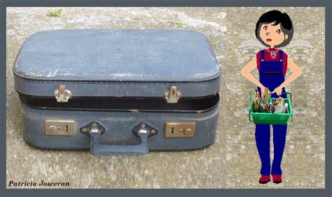 Customiser Une Valise Ancienne by Relooking D Une Valise Briko D 233 Ko Fait Maison