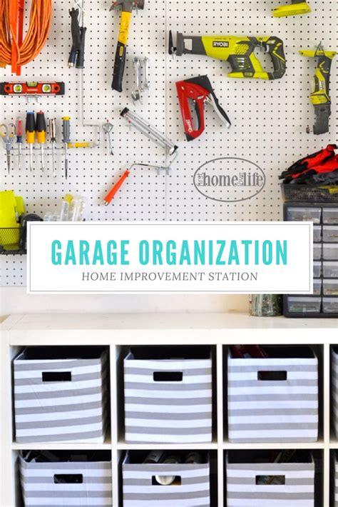 garage organization tips and tricks home improvement station home
