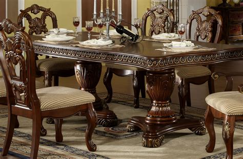 solid wood formal dining room sets dining room formal tables and chairs oak sets for 6 table