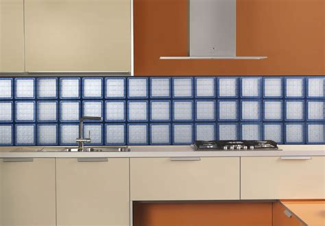 glass block tile backsplash vinyl framed glass block window for bathrooms kitchens