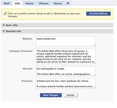 Best Resume Information by How To Create An Facebook Artist Page