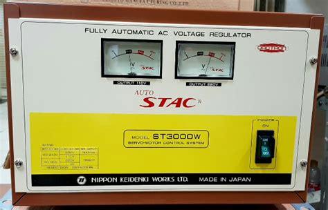 Stabilizer Oki Handal 3000 Watt Oki Stabilizer sumberstavol stabilizer stac 3000 w