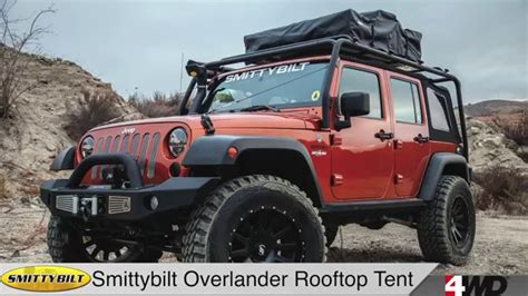 jeep tents day 7 smittybilt overlander rooftop tent bolt lock jeep
