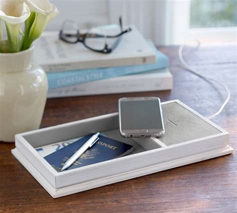 wireless charging station wireless charging station catchall with usb port