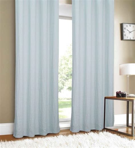 Mint Blue Curtains Luxury Linen Mint Blue Linen 88 Inch Curtain Panel
