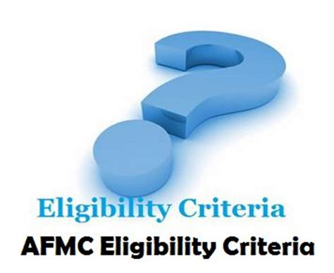 Mba Cet Eligibility Criteria 2017 by Afmc 2018 Eligibility Criteria Educational Qualification