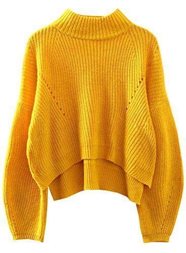 The Yellow Sweater yellow sweaters