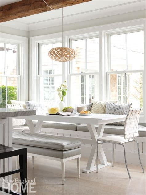 kitchen eating area ideas cape cod shingle style contemporary kitchen eating area